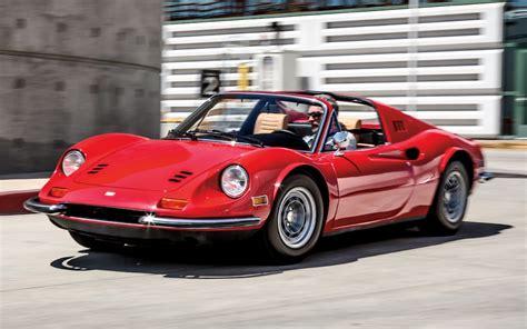 ferrari front view 1973 ferrari dino 246gts classic drive motor trend classic