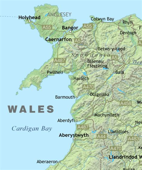 map of wales wales maps royalty free editable vector maps maproom