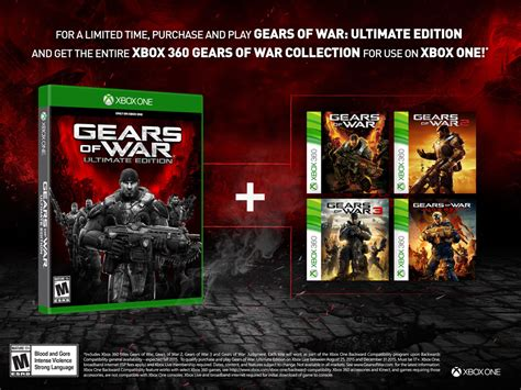 Edition Of One by Gears Of War Ultimate Edition For Xbox One Gamestop