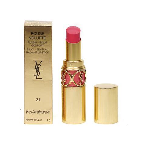Lipstik Ysl yves laurent ysl volupte shine pink lipstick fuchsia