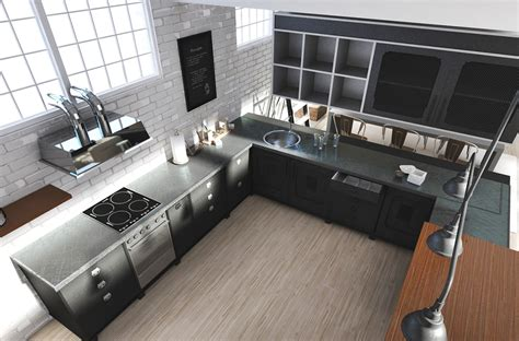 Kitchen Cabinets Designs For Small Kitchens these lofts are up in the clouds with their white designs