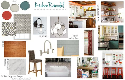 Kitchen Inspiration Mood Board Eclectic Style Kitchen Living Room Tour Burger