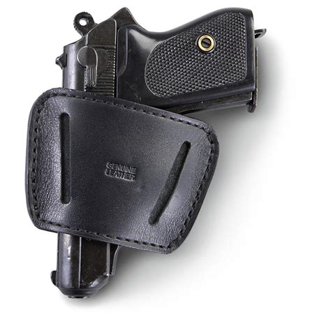 leather belt slide holster 9mm 45 acp 119351