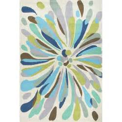 Blue And Green Outdoor Rug Jaipur Rugs Colours Blue Green Floral Indoor Outdoor Area Rug Reviews Wayfair