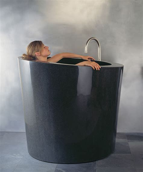 upright bathtub deep elegant and space saving soaking bathtub