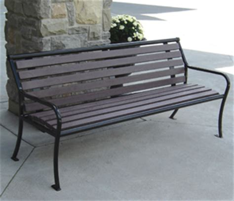 belson outdoors benches belson outdoors benches parkview outdoor benches recycled plastic park benches