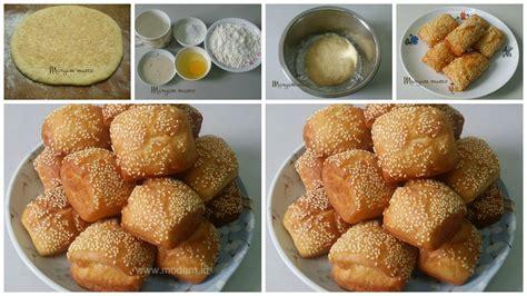 resep membuat roti goreng sederhana resep roti goreng wijen lembut dan renyah