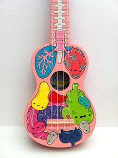 ukulele design instagram lauren swan hand painted ukuleles music pinterest