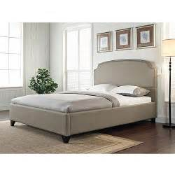 walmart bed headboard maison upholstered bed pebble walmart