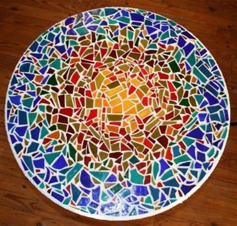 glass mosaic pattern maker mosaic table top pattern house photos making mosaic