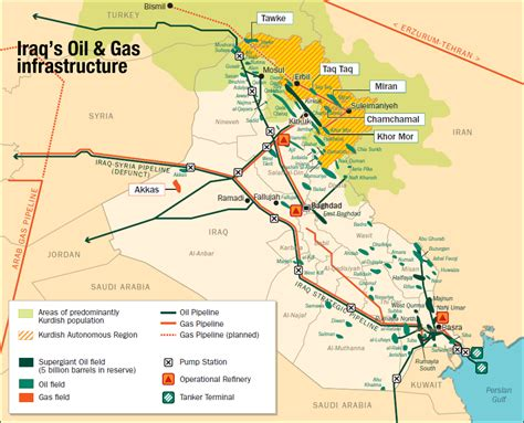 map of iraqi fields abandons strategically important city in iraq kirkuk