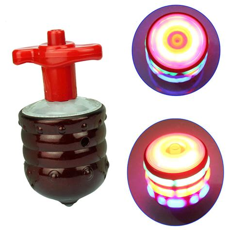 Top Spinning Light Show 1 spinning top led light spinning top colorful light wood