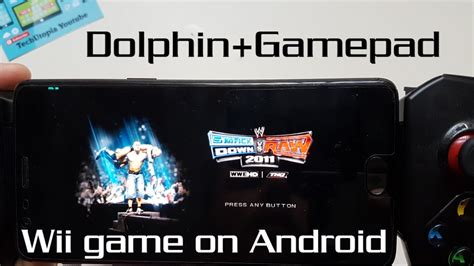 wii emulator android wii emulator test smackdown vs 2011 gameplay android gamepad snapdragon 821