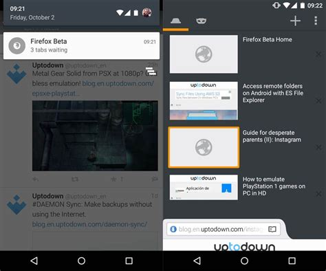 firefox android apk firefox on android lets you load pages in the background