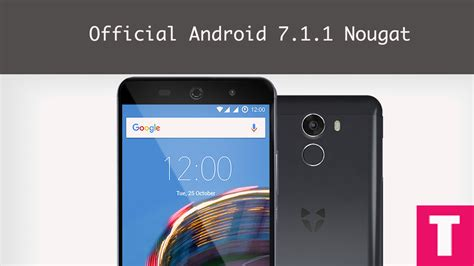 What Android Version Is 7 1 1 by And Install Android 7 1 2 Nougat On Wileyfox
