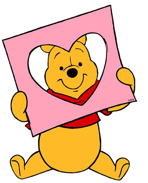 winnie the pooh valentines day winnie the pooh summer clipart 58