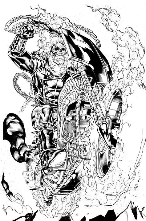 Fs Marvel Flip Cover 2 Hitam ghost rider alone by marcdeering on deviantart