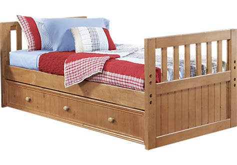 rooms to go trundle bed creekside 3 pc twin bed w trundle trundle beds