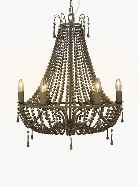 Lewis Lighting Chandeliers by Lewis Partners Marilyn Beaded Chandelier
