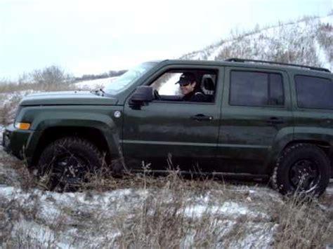 Jeep Patriot Fdii Jeep Patriot Fdii Snow With Goodyear Wrangler