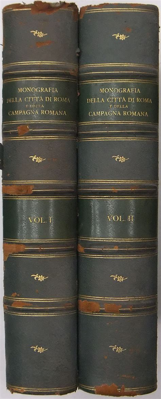 libreria antiquaria giulio cesare monografia della citt 224 di roma e della cagna romana