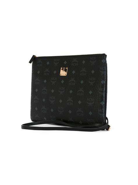 Kate Spade Cobble Hill Small Ela 1 Lyst Mcm Color Visetos Crossbody Bag In Black