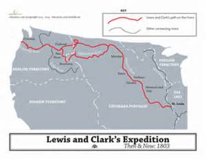 Lewis And Clark Route Map by Lewis And Clark Expedition Map Worksheet Education Com
