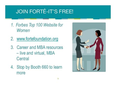 Forte Foundation Mba Launch by Is There An Mba In Your Future