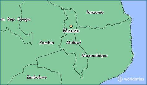 Where Is Mzuzu Malawi Mzuzu Northern Region Map