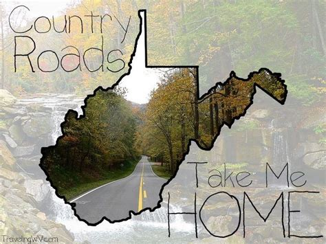 west virginia mountain momma take me home