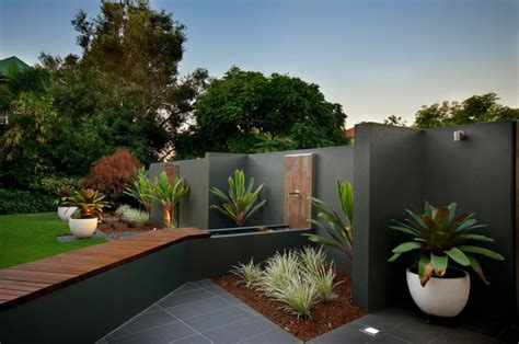 modern home design tips low maintenance landscaping around house design and ideas