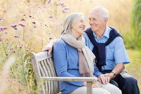 old couple on park bench how you can exercise yourself younger with these simple