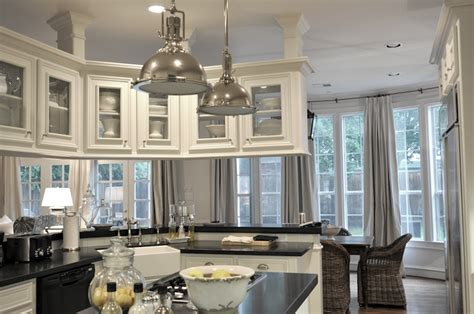Overhead Kitchen Cabinets | overhead cabinets transitional kitchen cote de texas