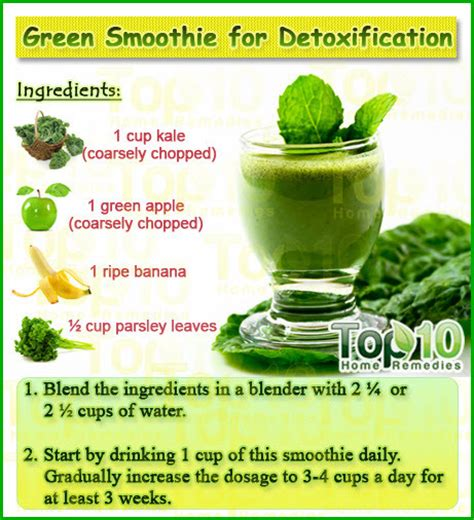 How Can I Detox My With Home Remedies by Home Remedies For Detoxification Remedies Smoothies And