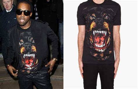 rottweiler t shirts kanye west s givenchy rottweiler shirt is now available complex