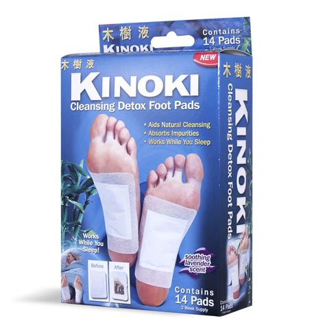 Kinoki Foot Detox Patches Ingredients by Bantul Kinoki Cleansing Detox Foot
