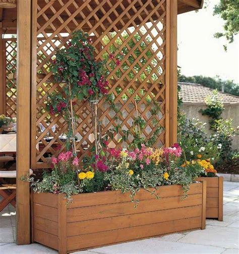 Treillis De Jardin by Treillis Pour Fleurs Grimpantes