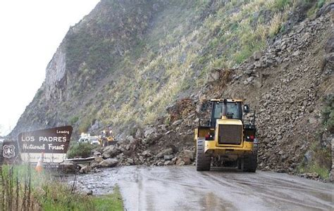 Pch Big Sur Road Closure - location of landslide on hwy 1 types of landslides elsavadorla