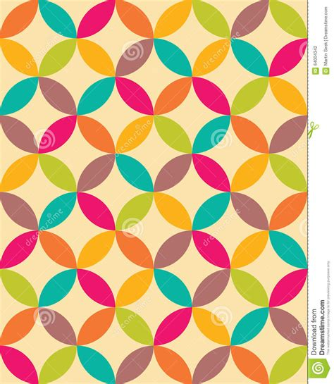 pattern vector color vector modern seamless colorful geometry overlapping