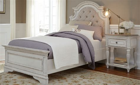 white youth bedroom furniture sets magnolia manor antique white youth upholstered bedroom set