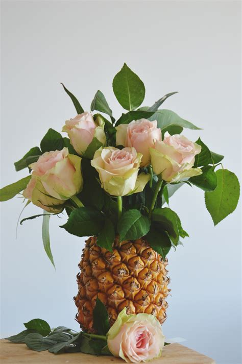 Pineapple Table Decorations Crafternoon How To Make A Pineapple Vase Liz Niland
