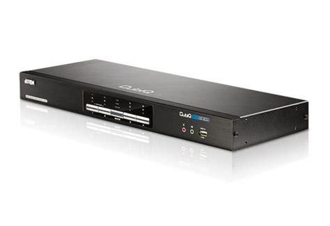 Sale Kvm Switches Aten Dvi D Kvm Cable X0009 2l 7d02v 4 port usb dvi dual view kvm switch with audio usb 2 0 hub all kvm cables included cs1644