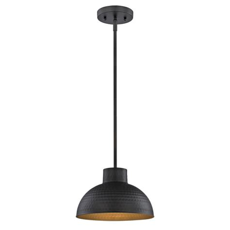 Bronze Pendant Lights For Kitchen Westinghouse 1 Light Hammered Rubbed Bronze Pendant 6309900 The Home Depot