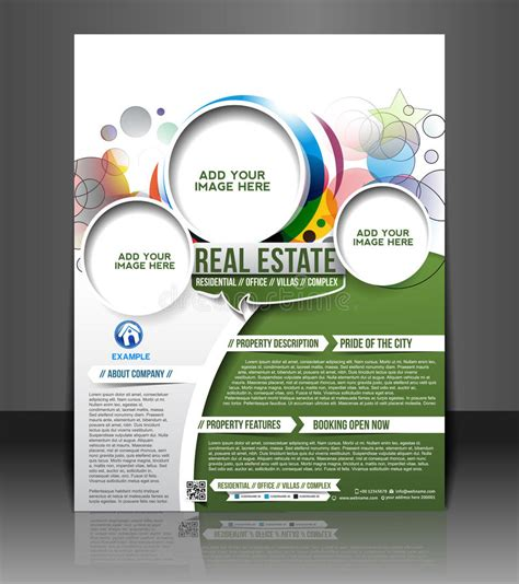 Real Estate Flyer Design Stock Vector Image 40489492 Royalty Free Flyer Templates