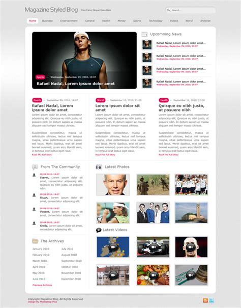 layout magazine photoshop 48 in depth website design photoshop tutorials psdfan