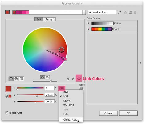 change pattern color illustrator cs6 adobe illustrator how can i change hue of a vector image