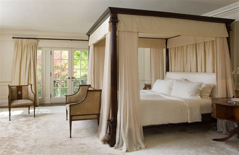 Four Post Bed Canopy | elegant canopy beds for sophisticated bedrooms