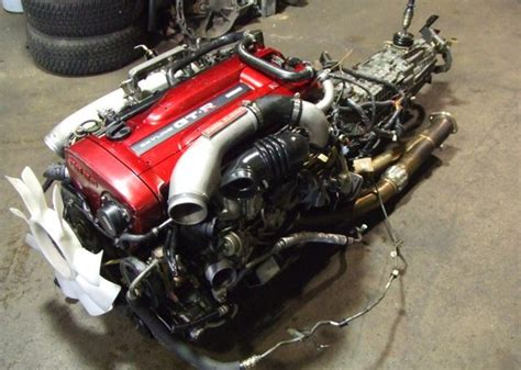 nissan skyline r34 engine jdm nissan skyline gtr rb26dett r34 engine with 6 speed
