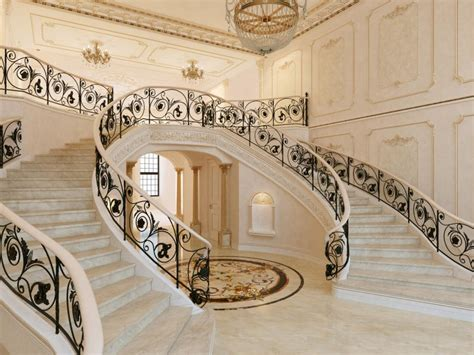 Floor Plans With Spiral Staircase by 17 Decorative Wrought Iron Railings For Any Style Home