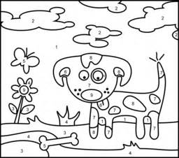 Dog Coloring Page Printables Apps For Kids sketch template